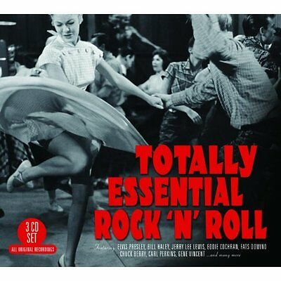 Totally Essential Rock 'N' Roll VARIOUS ARTISTS Best Of 60 Songs MUSIC New 3 CD