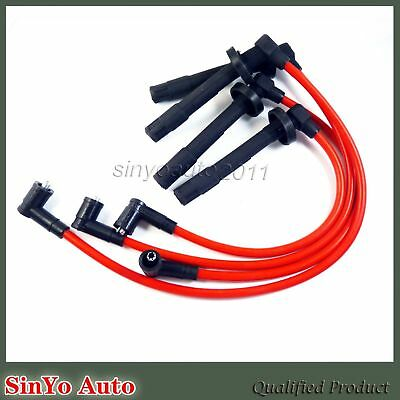 10.2MM RACING SPARK PLUG WIRES For Honda Civic Racing ZFR5F-11 D16Y8