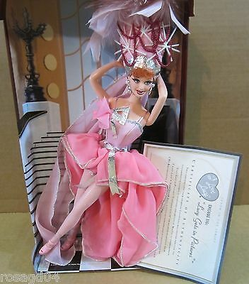 """I Love Lucy Ricardo Barbie Doll Lucille Ball """"Lucy Gets In Pictures"""" Episode 116"""