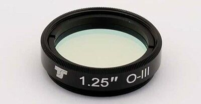 "TS-Optics O-III Filter 1,25"" (31,7mm)  DeepSky  Nebelfilter für Teleskop, TSO31"