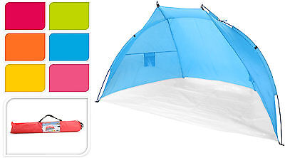 Beach Tent Canopy Festival Uv Sun Shade Wind Break Shelter Camping Screen