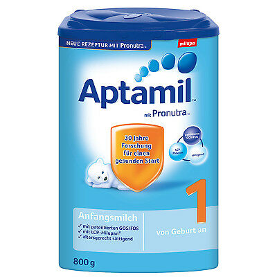 1x Aptamil First Infant Baby Milk Formula 800g (28.2oz)