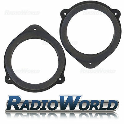 Audi A3 A4 MDF Front & Rear Door Speaker Adaptors / Rings / Spacers