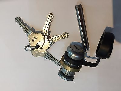 Knott Avonride Type  Hitch Lock Full Package, For Ifor Williams, Four Keys