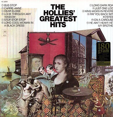 The Hollies GREATEST HITS 180g Best Of 12 Songs ESSENTIAL New Sealed Vinyl LP