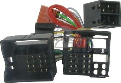 Connects 2 Autoleads ISO T-Harness SAAB 9.3 2004 10SA01