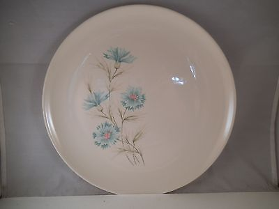 Vintage Taylor Smith & Taylor TST Ever Yours Dinner Plate Blue Flowers
