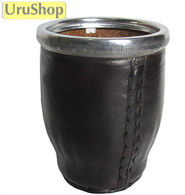M59 Glass/leather Cup For Yerba Mate Versatile And New