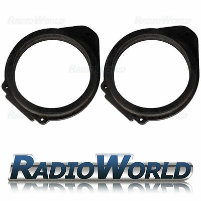 "Vauxhall Astra Insignia 6.5"" MDF Front Speaker Adaptors / Rings / Spacers"