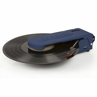 Crosley CR6020A-BL Revolution Portable USB Turntable Record Player ~ BLUE NEW