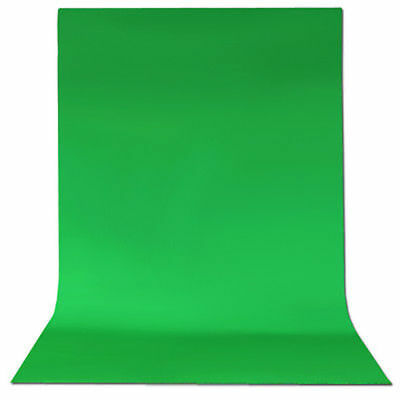 6 x 9 ft Green Screen Muslin Backdrop Photo Studio Photography Background NEW