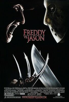 Feddy vs Jason - original DS movie poster - 27x40 D/S Final