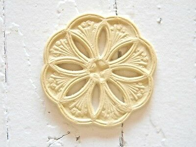 Rosette Furniture Appliques Set Of 2-Stainable-Paintable-$5.95 No Limit Shipping