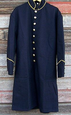Civil war union federal cavalry single breasted frock coat   50