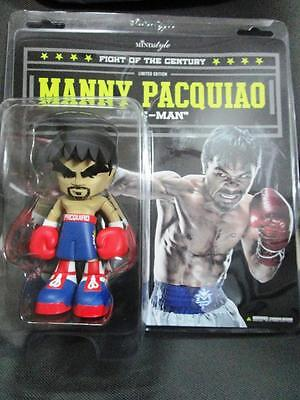 "2015 MANNY PACQUIAO 7"" FIGURE BLUE RED MINDSTYLE new release with case brand new"