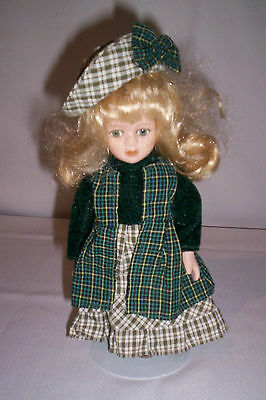 RUSS BERRIE 8 INCH DOLL WITH STAND