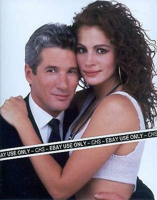 "RICHARD GERE & JULIA ROBERTS NICE COLOR 8x10 PHOTO ""PRETTY WOMAN"""