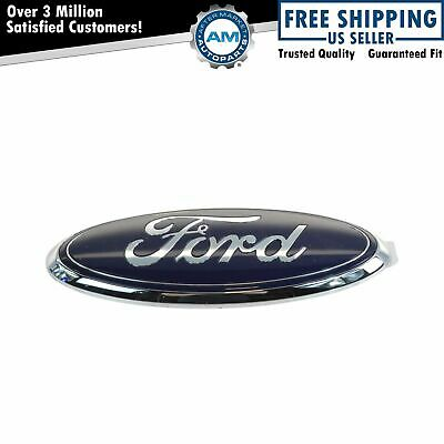 OEM Blue Oval Rear Liftgate Tailgate Emblem Nameplate for Ford Pickup Truck SUV