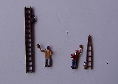 P&D Marsh N Gauge N Scale X67 Window cleaners & ladders Painted