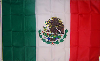 Mexico 3' x 5' Flag Country Mexican National Pride Banner
