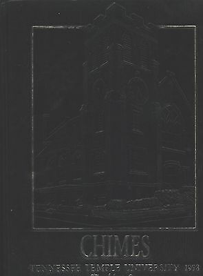 Chattanooga TN Tennessee Temple University yearbook 1998