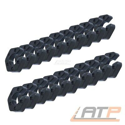 20x 21mm FEDERWEGSBEGRENZER CLIP-ON CLIP BMW E30 E32 E34 E36 E39 E46 E90 E81 E87
