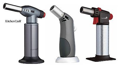 Master Class Professional or Deluxe Cooks Blow Torch Blowtorch