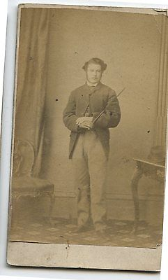Nice Antique CDV Photo Music Conductor with Baton Portsmouth