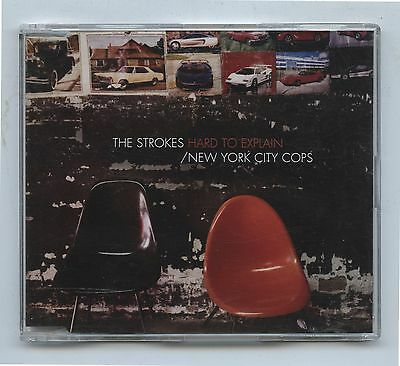 2001 The Strokes Hard to Explain New York City Cops CD single