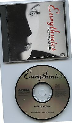 1989 Eurythmics Don't Ask Me Why Promotional CD