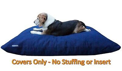 """Dogbed4less DIY Durable Washable Jean Denim Pet Dog Bed Large Cover Case 47""""x29"""""""