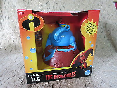 Disney The Incredibles Omnidroid Gazillion Bubble Blower  MIB Unopened