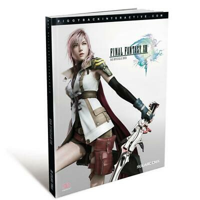 Final Fantasy 13 XIII Lösungsbuch in Deutsch, NEU&OVP