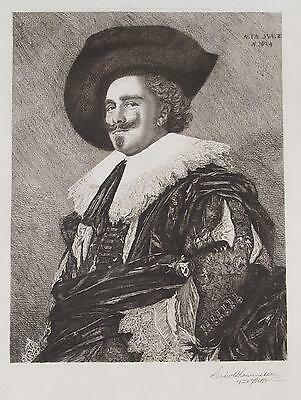 Frans Hals The Laughing Cavalier Leopold Lowenstam Kavalier Holland Antwerpen