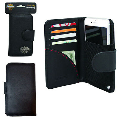 Harley Davidson Credit Card and Cash Wallet Case for Samsung Galaxy s6 Edge