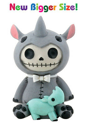 Furrybones Figurine -   Rhino Buster  --- New Larger Size