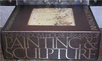Last One! ~  Library Of Painting & Sculpture ~ Slipcased Gift Edition ~ 4 Vol Hc
