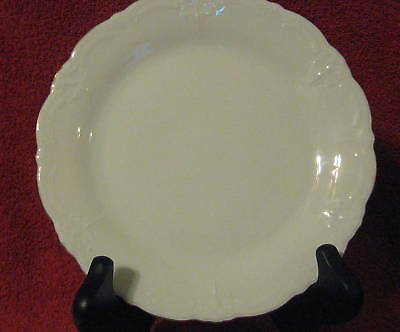 Hutschenreuther Baronesse Gold White China Bread Plate
