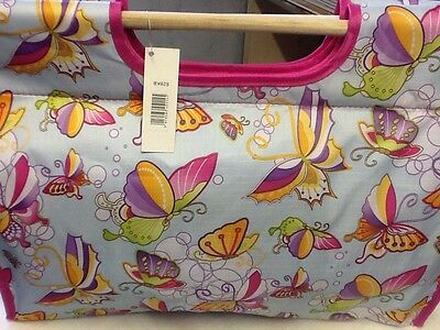 Exclusive Knitting Bag - Butterfly Design 628Kb