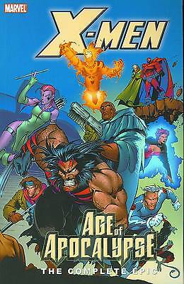 X-MEN: THE COMPLETE AGE OF APOCALYPSE EPIC BOOK TWO (2) TPB Marvel Comics TP