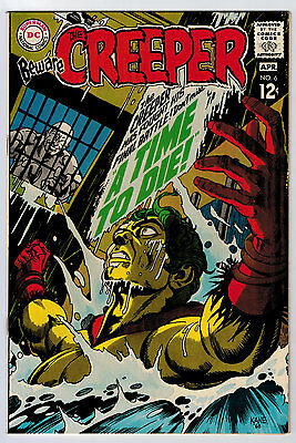 Beware The Creeper #6 8.5 Gil Kane Cover Off White Pages Silver Age