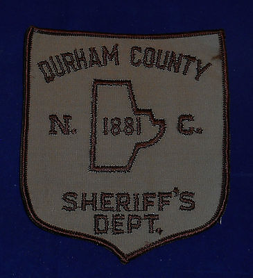 Durham County, North Carolina Sheriff's Dept. Police Shoulder Patch (invp2688)
