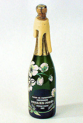 PERRIER - JOUET Special  EMPTY  Store  Display  FOAMING  CHAMPAGNE  BOTTLE