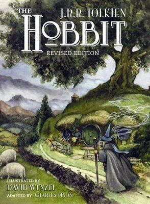 The Hobbit: Graphic Novel-J. R. R. Tolkien, David Wenzel