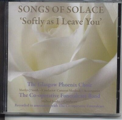 Glasgow Phoenix Choi - Songs of Solace: Softly As I Leave You [New CD]