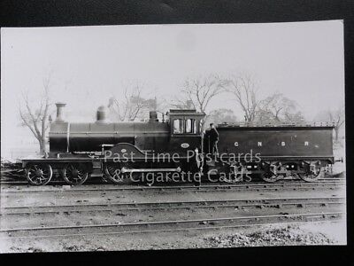 Great North of Scotland Railway GNSR Steam Locomotive No.25 RP Photocard 110515