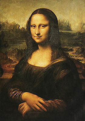 Leonardo Da Vinci : The Mona Lisa ( La Gioconda Joconde ) Canvas Fine Art Print
