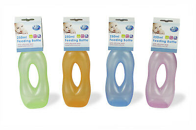 First Steps Gripper Baby Bottle Feeding Juice Milk Water Toddler BPA Free