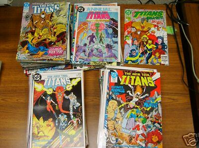 New Teen Titans (1984 Series) (Dc) 93 Issues