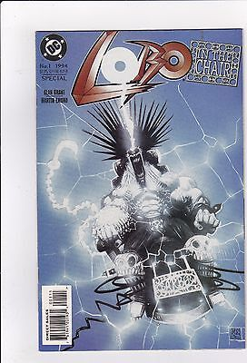 Lobo In The Chair #1 NM- 9.2 1994 DC See My Store
